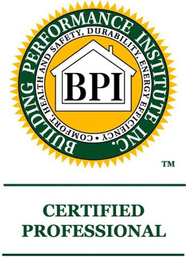 BUILDING PERFORMANCE WORKSHOP BPI CERTIFIED PROFESSIONAL LOGO